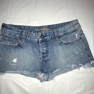 American Eagle  Weathered Jean Shorts